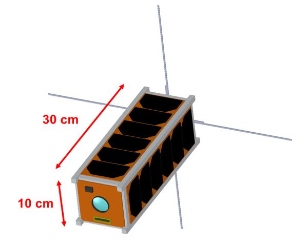 3U nanosatellite